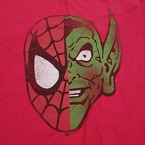Other - Men's XL Half Spiderman Half Green Goblin Shirt